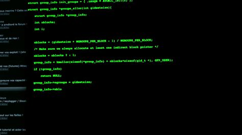 text screen background hacker typing on a screen coding green letters black