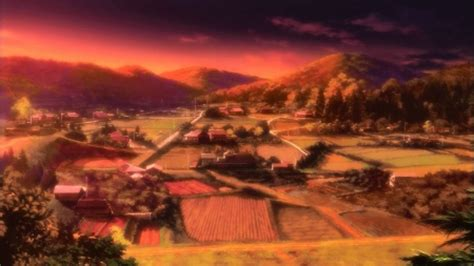 anime village wallpaper anime village anime scenery wallpapers and images