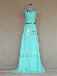 2014 cheap long crystal beads party dress bling homecoming dress