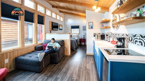 single level tiny house  perfect  disabled