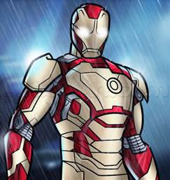 ironman drawing how to draw iron 3 step by step marvel characters