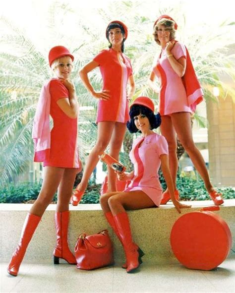 1960s Mod Dresses Those Groovy Psa Stewardesses Again