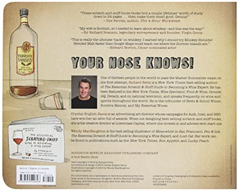the scratch sniff guide to a lover s companion books the essential scratch sniff guide to becoming a whiskey