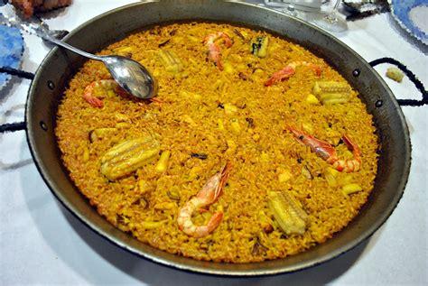 cucina spagnola paella ricetta paella valenciana ricette di buttalapasta