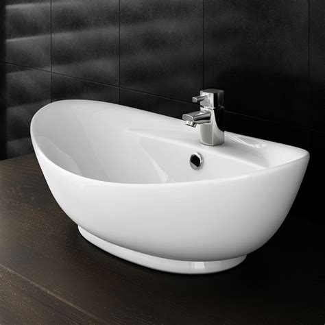 Oval Vanity Basin by Faro Oval Counter Top Basin With Mono Basin Mixer
