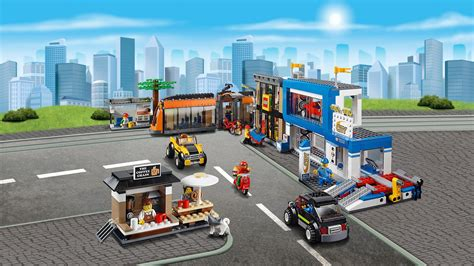 Lego City by Lego 60097 City Town City Square Building Co