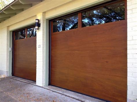 Modern Wood Garage Doors Cowart Door Modern Wood Garage Doors Modern Garage By Cowart Door Systems