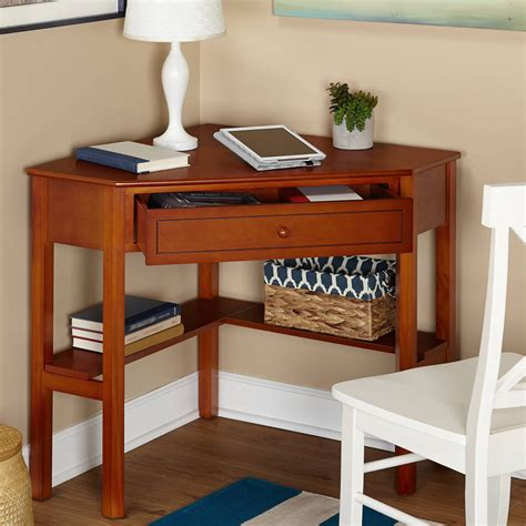wooden corner desk custom home office furniture