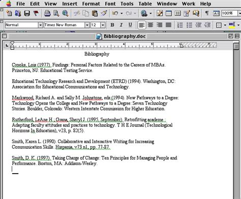 Creating A Bibliography by Creating A Bibliography Step 1
