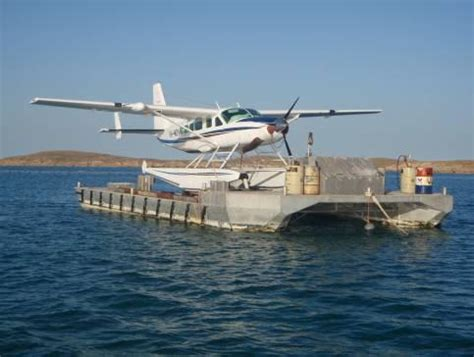 pontoon plane for sale float plane pontoon mb0005 australian workboat brokers