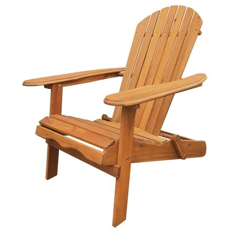leigh country natural folding adirondack chair tx   home depot