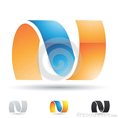 abstract icon stock image image 35579161 abstract icon for letter n royalty free stock image