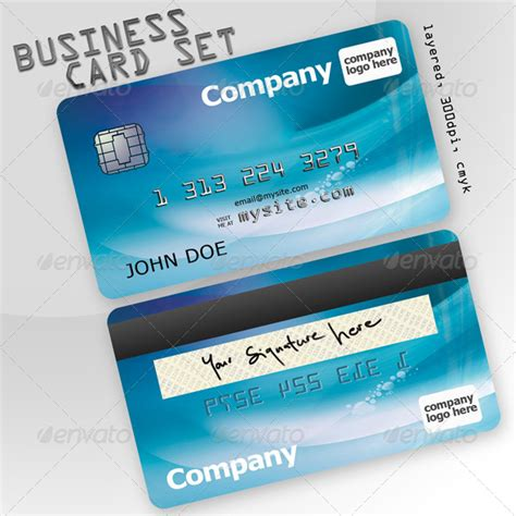 credit card business card template business card set credit card creative business cards