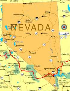map nevada arizona karte nevada map of nevada marco nef travel and