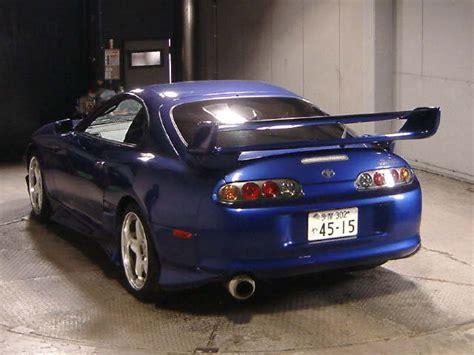 2000 toyota supra turbo 2000 toyota supra rz s turbo 6 speed in blue