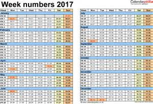 2018 Calendar With Numbered Weeks 2015 Calendar With Weeks Numbered In Excel Autos Post