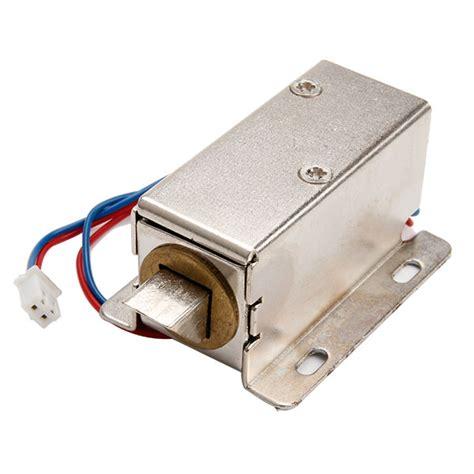 Door Dc by Dc 12v Electric Door Lock Slim Design Lock Tongue