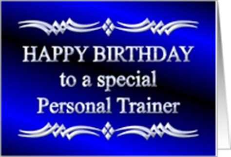 Birthday Card For Personal Trainer Birthday Cards For My Personal Trainer From Greeting Card