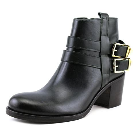 accademia fa215 leather black ankle boot boots