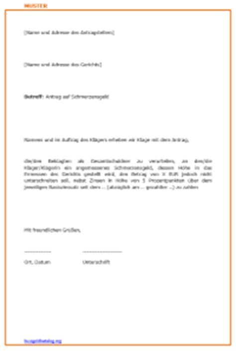 Antrag Höhergruppierung Vorlage Schmerzensgeld Beantragen Unfall Verkehrsrecht 2017