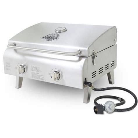 Propane Pit Burner Pit 2 Burner Portable Lp Gas Grill Stainless Steel