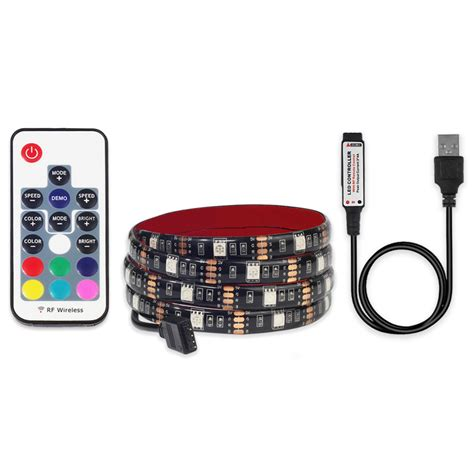led 5050 rgb 1m with usb controller black jakartanotebook