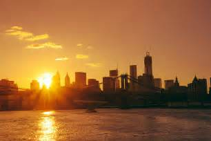 Nyc Duvet Cover Sunset New York City Photograph By Vivienne Gucwa