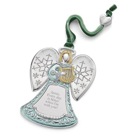 2015 personalized christmas angel ornament buy christmas