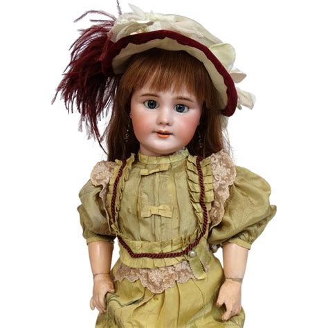 jumeau bisque doll antique bisque doll dep by jumeau from