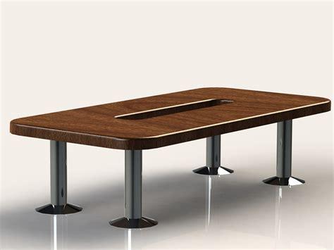 large wooden desk free obj model large wooden office desk