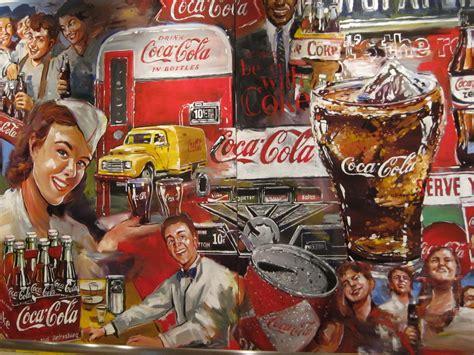 imagenes retro coca cola coca cola mural michelle dudash