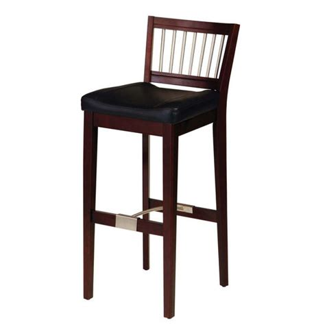home styles furniture w metal stretcher cherry bar stool bar stools solid wood stool with metal stretchers