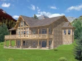 Luxury Log Home Plans Golden Canyon Luxury Log Home Plan 088d 0269 House Plans
