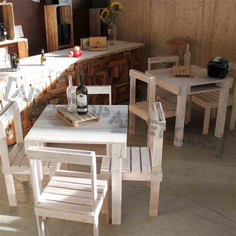 tavolo con pallet tavolo pallet tavoli con bancali vendita on line riciclo eco