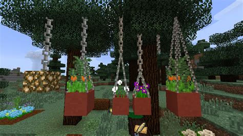 How To Make A Garden In Minecraft by Garden Stuff Cosmetic Minecraft Mods Curse
