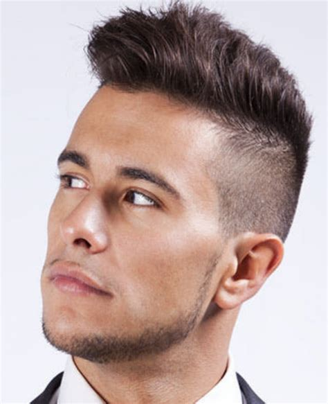 cool boys haircuts short sides long top modern punk haircut for men with very cool haircut with
