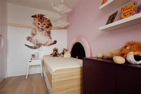 cat wallpaper room teen bedroom wall decoration ideas cool photo wallpapers