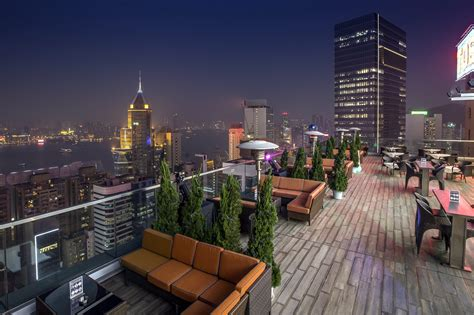 Top 10 Rooftop Bars Hong Kong by The Best Rooftop Bars In Hong Kong Foodie