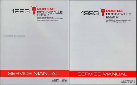 how to download repair manuals 1993 pontiac grand prix electronic throttle control 1993 pontiac bonneville repair shop manual original 2 volume set