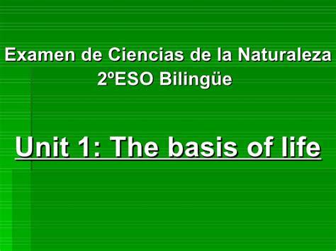 examen de ciencias de la naturaleza