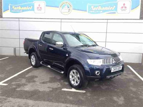 mitsubishi warrior 2010 mitsubishi 2010 l200 di d 4x4 warrior lb dcb up