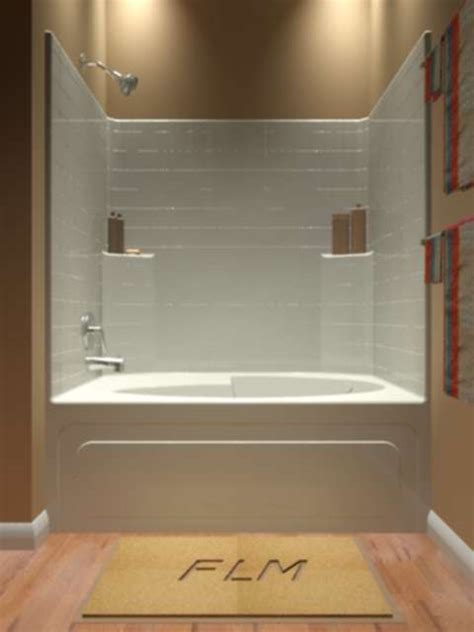 one piece bathtub shower tub and shower one piece