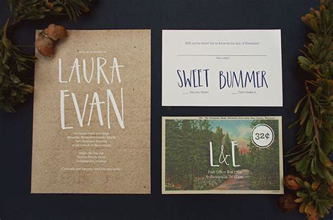 Nature Themed Wedding Invitations by Nature Themed Winter Wedding Inspiration Green Wedding