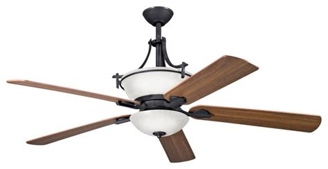 60 quot olympia distressed black ceiling fan craftsman ceiling