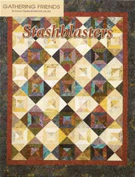 stashblasters pattern book gathering friends quilt shop