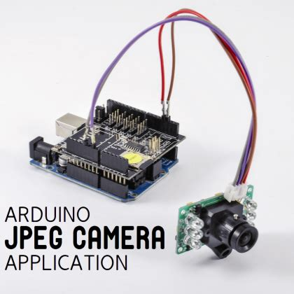 an arduino based jpeg camera with ir and pir | open