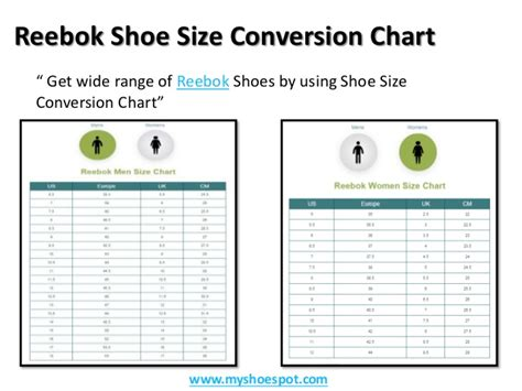 get your favorite shoes by using shoe size conversion chart