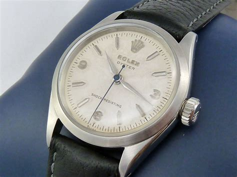 Rolex Oyster Ds 035 Black Steel rolex oyster 6246 c 1955 secondhand and vintage watches