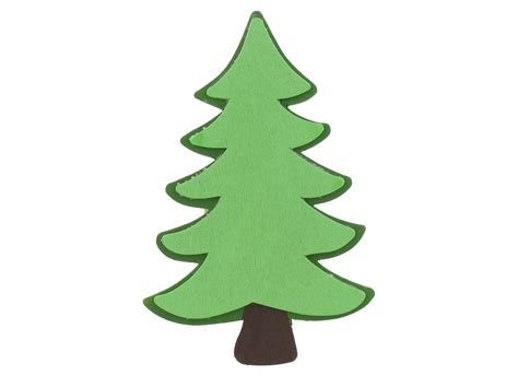 fir tree clipart evergreen tree pencil and in color fir