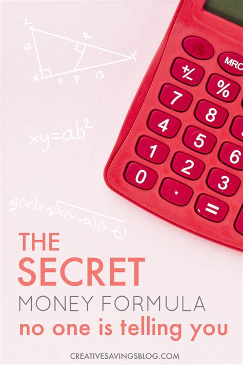 What No One Is Telling You by The Secret Money Formula No One Is Telling You